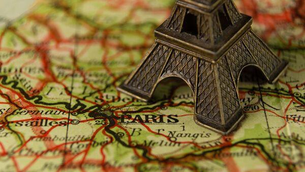 París en el mapa - Sputnik Mundo