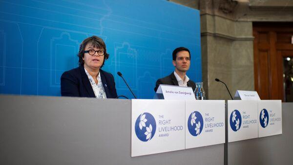 El comisionado de Right Livelihood Award - Sputnik Mundo