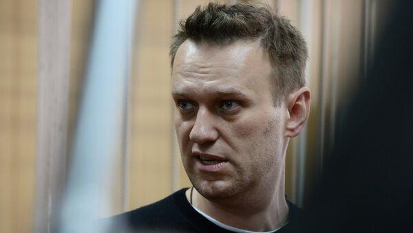 Alexéi Navalni, opositor ruso (Archivo) - Sputnik Mundo