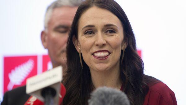 La primera ministra de Nueva Zelanda, Jacinda Ardern - Sputnik Mundo