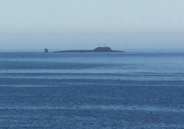 El submarino de la clase Yasen-M Severodvinsk