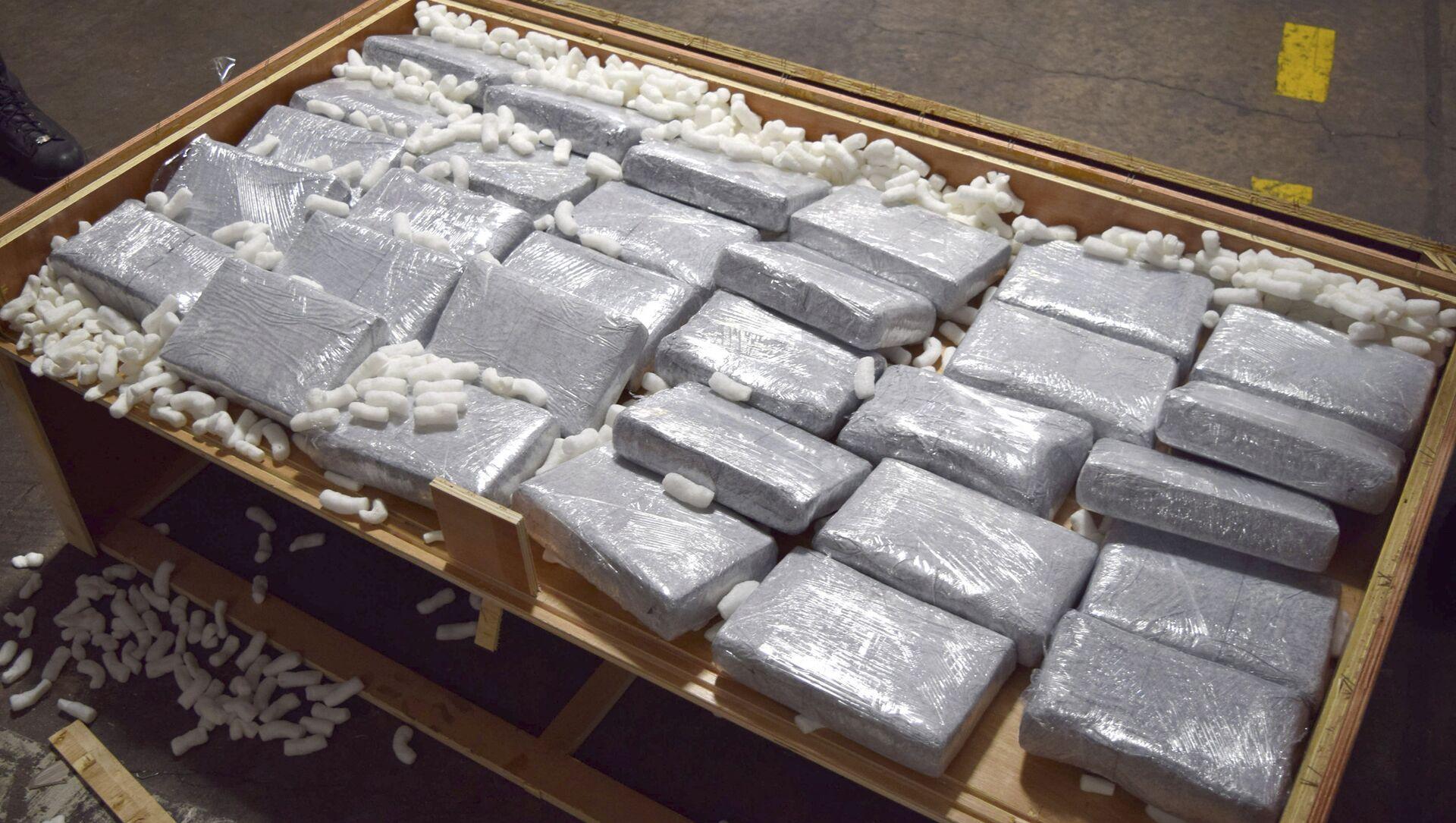 Un cargamento de drogas (archivo) - Sputnik Mundo, 1920, 18.11.2020