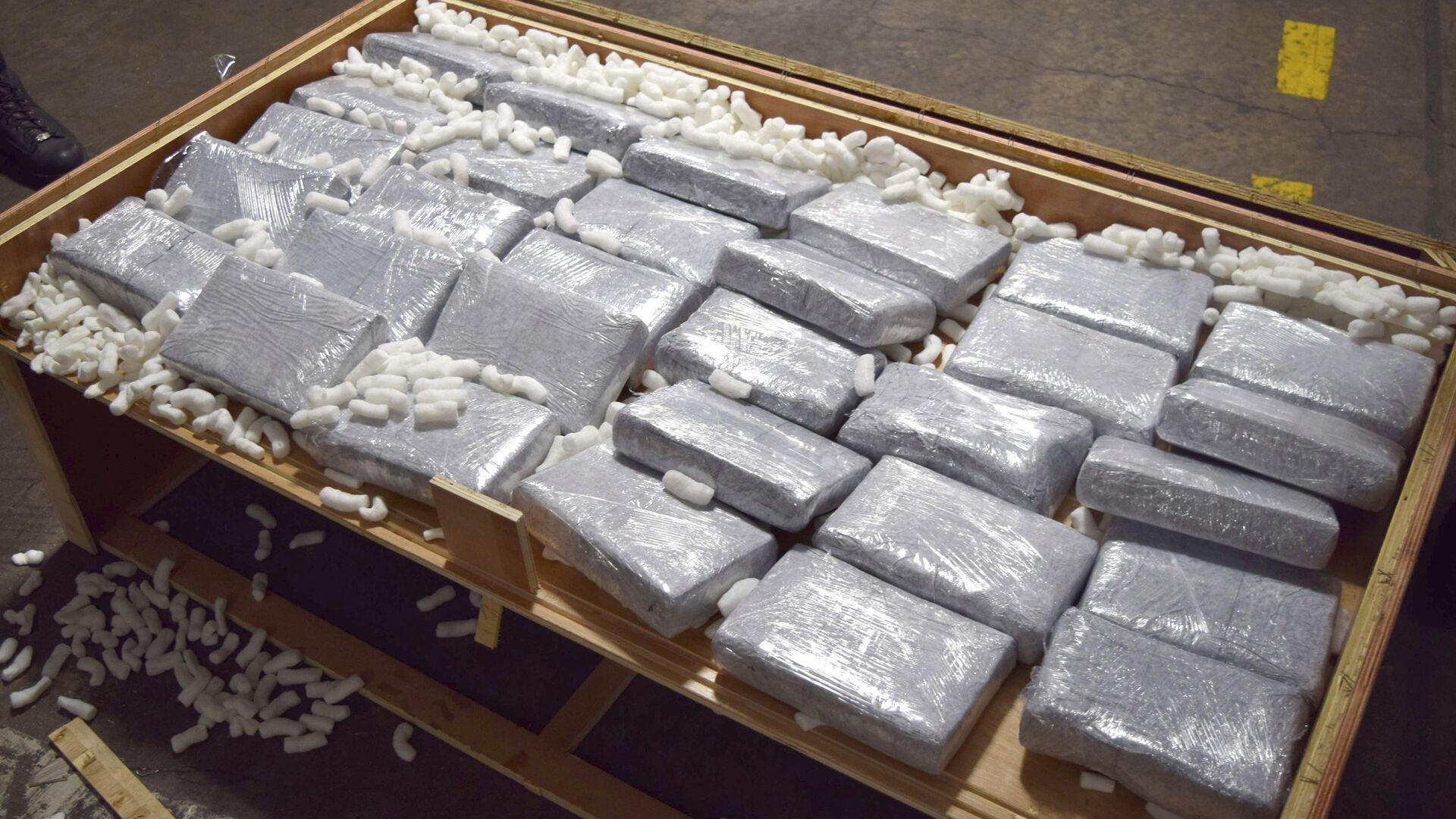 Un cargamento de drogas (archivo) - Sputnik Mundo, 1920, 16.06.2021