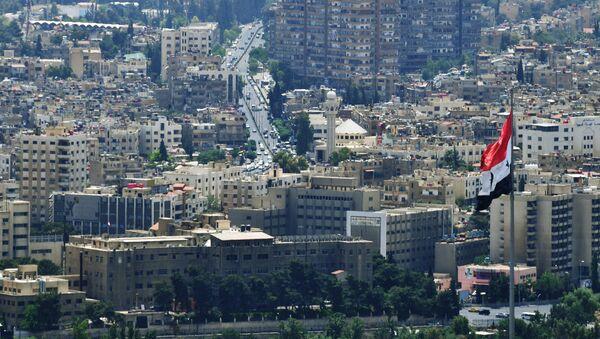 La ciudad de Damasco, Siria - Sputnik Mundo