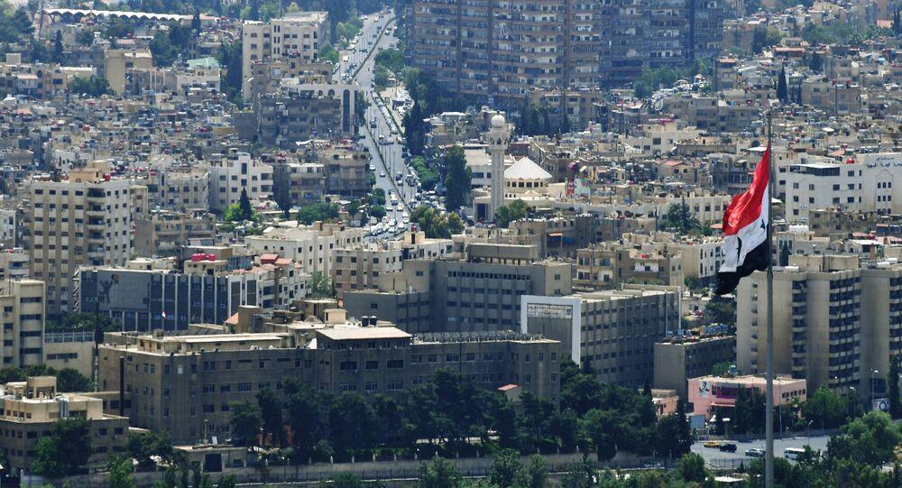 La vida cotidiana en Damasco, Siria