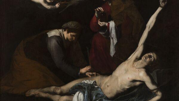 San Sebastián curado por las santas mujeres - Sputnik Mundo