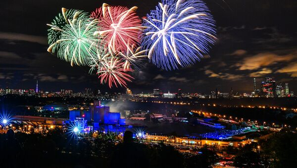 Así fue la ceremonia de clausura del festival Círculo de Luz en Moscú - Sputnik Mundo