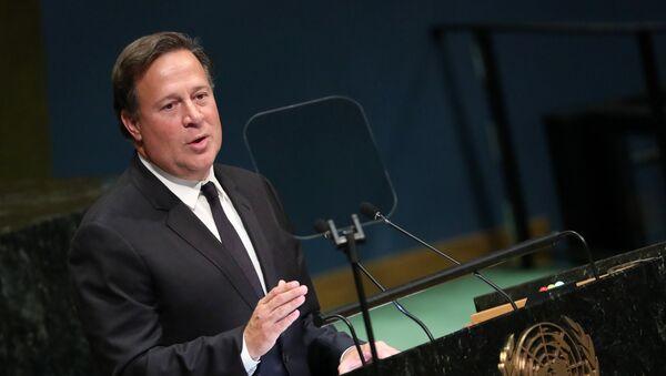 Juan Carlos Varela, el presidente de Panamá - Sputnik Mundo