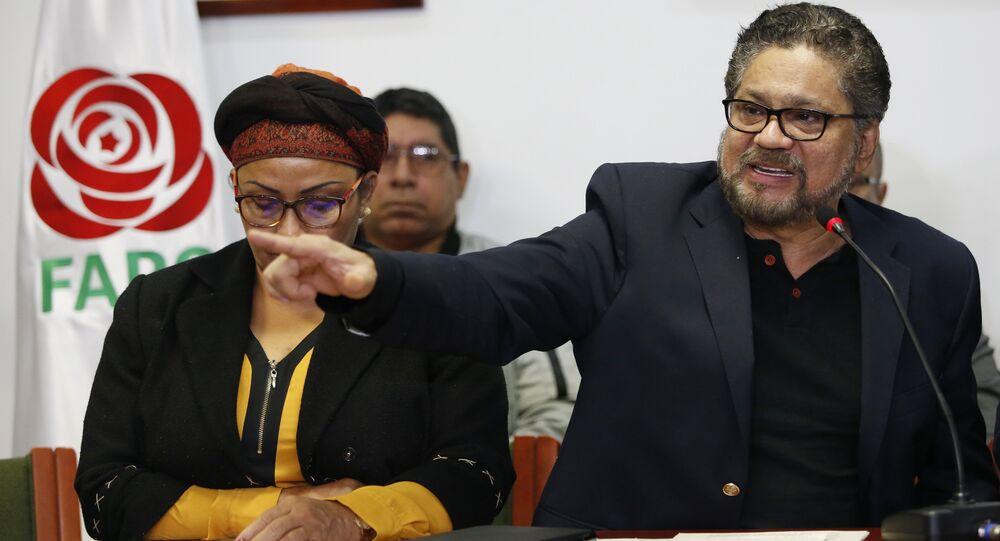 Rodrigo Londoño, el presidente del partido Fuerza Alternativa Revolucionaria del Común