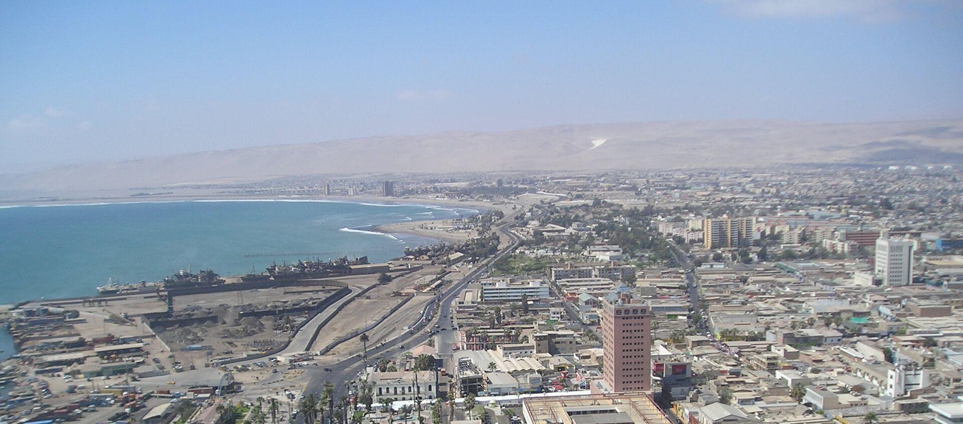 La ciudad puerto de Arica, Chile - Sputnik Mundo, 1920, 26.09.2018