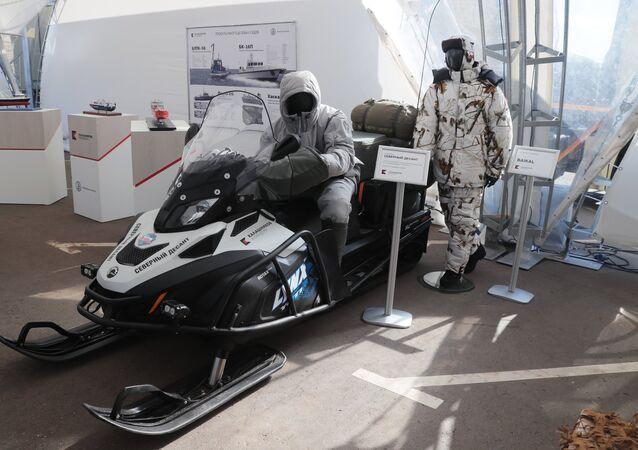 El nuevo equipamiento del consorcio Kalashnikov para fuerzas especiales en el Ártico