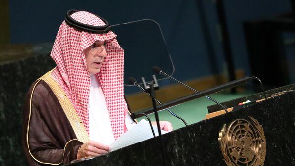 Adel Jubeir, ministro de Relaciones Exteriores de Arabia Saudí - Sputnik Mundo