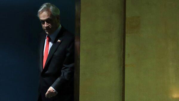 Sebastián Piñera, presidente de Chile, en la Asamblea General de la Organización de las Naciones Unidas - Sputnik Mundo
