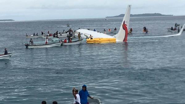 Un avión se estrella en Micronesia - Sputnik Mundo