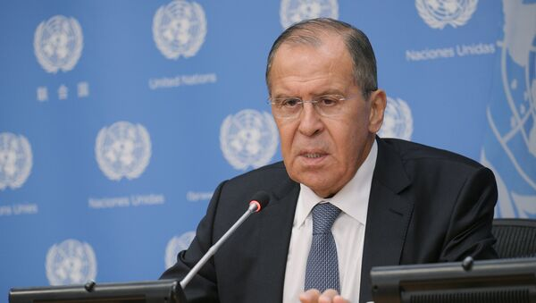 Serguéi Lavrov, ministro de Exteriores de Rusia - Sputnik Mundo