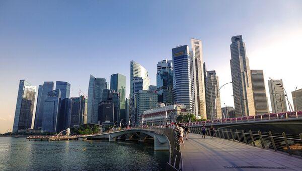 La ciudad de Singapur - Sputnik Mundo