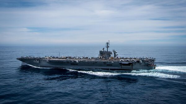 Portaviones estadounidense USS Theodore Roosevelt - Sputnik Mundo