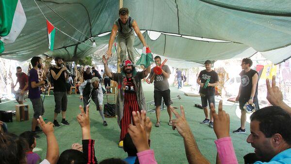 Festival de circo Festiclown en Palestina - Sputnik Mundo