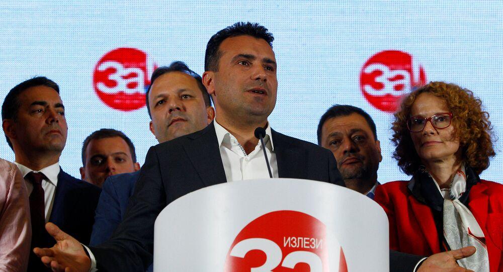 Zoran Zaev, primer ministro macedonio