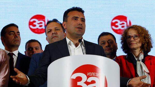 Zoran Zaev, primer ministro macedonio - Sputnik Mundo