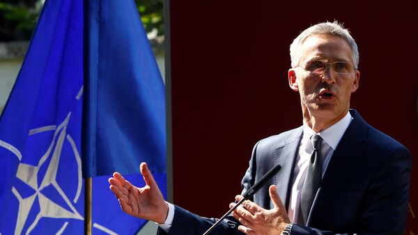 Jens Stoltenberg, el secretario general de la OTAN - Sputnik Mundo