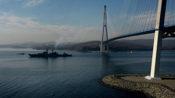 Crucero Variag de la Flota Rusa del océano Pacífico - Sputnik Mundo