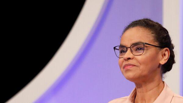 Marina Silva, excandidata a las elecciones presidenciales en Brasil - Sputnik Mundo