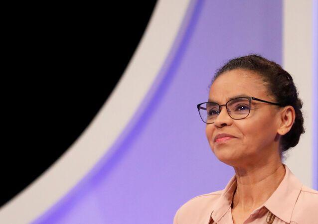Marina Silva, excandidata a las elecciones presidenciales en Brasil