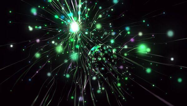 Partículas (imagen referencial) - Sputnik Mundo