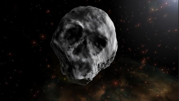 Asteroide 2015 TB145 bautizado como asteroide calavera - Sputnik Mundo
