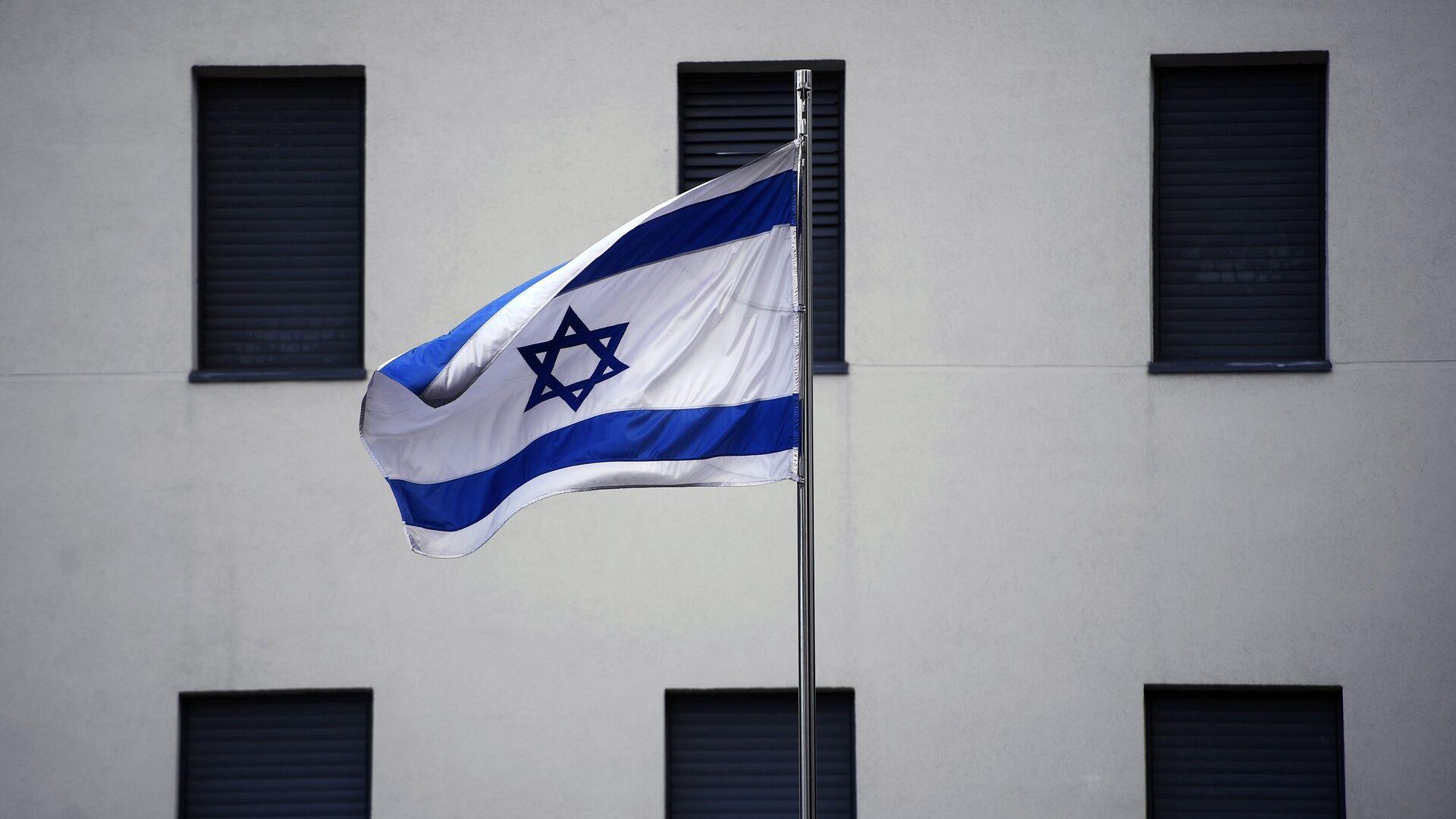 Bandera de Israel en el edificio de la Embajada israelí en Moscú (archivo) - Sputnik Mundo, 1920, 29.03.2021