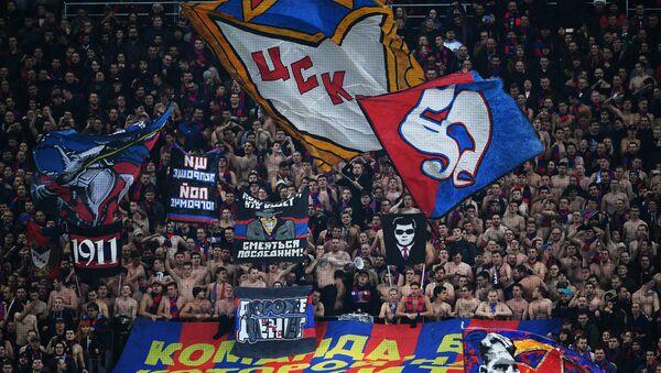 Hinchas de CSKA (imagen referencial) - Sputnik Mundo