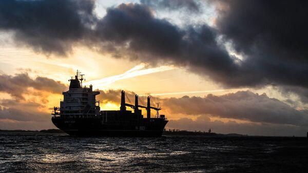 Un buque en el mar (imagen referencial) - Sputnik Mundo