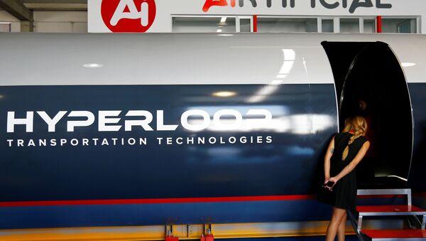 El estreno del tren supersónico Hyperloop - Sputnik Mundo