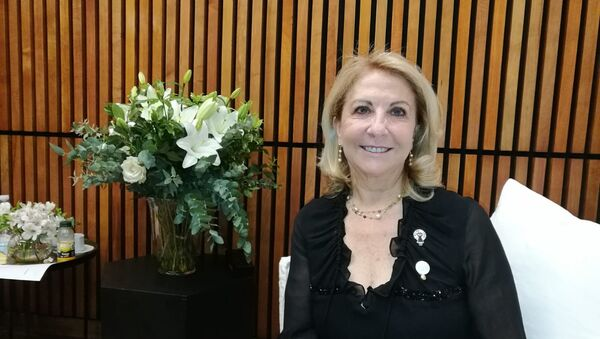 Susana Balbo, chair del W20 - Sputnik Mundo