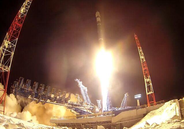 La Defensa rusa celebra el Día de las Fuerzas Espaciales