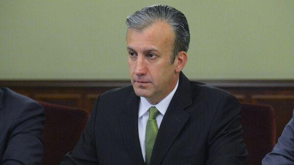 Tareck El Aissami, ministro de Industrias y Producción Nacional y vicepresidente de Economía de Venezuela - Sputnik Mundo