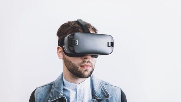 Gafa de realidad virtual (imagen referencial) - Sputnik Mundo