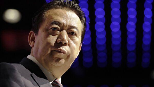 Meng Hongwei, el presidente de Interpol - Sputnik Mundo