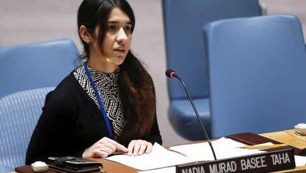 Nadia Murad, ganadora del Premio Nobel de la Paz - Sputnik Mundo