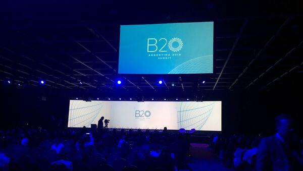 Foro de Business 20 (B20) en Buenos Aires - Sputnik Mundo