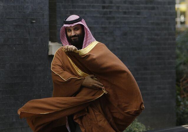 Mohamed bin Salman, príncipe heredero de Arabia Saudí