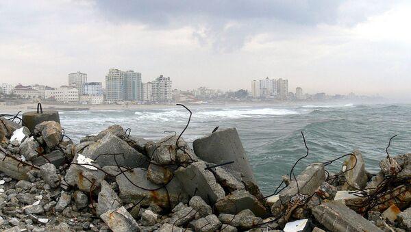 Costa de Gaza - Sputnik Mundo