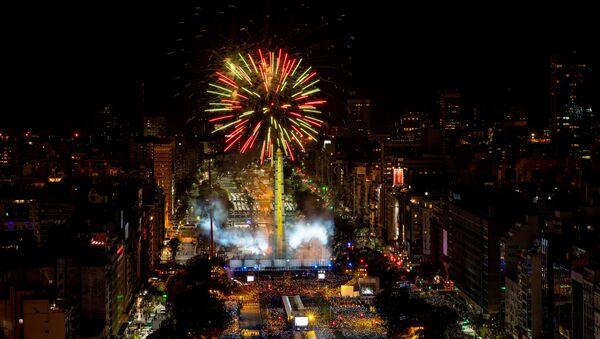 Ceremonia de inauguración de los Juegos Olímpicos de la Juventud en Buenos Aires - Sputnik Mundo