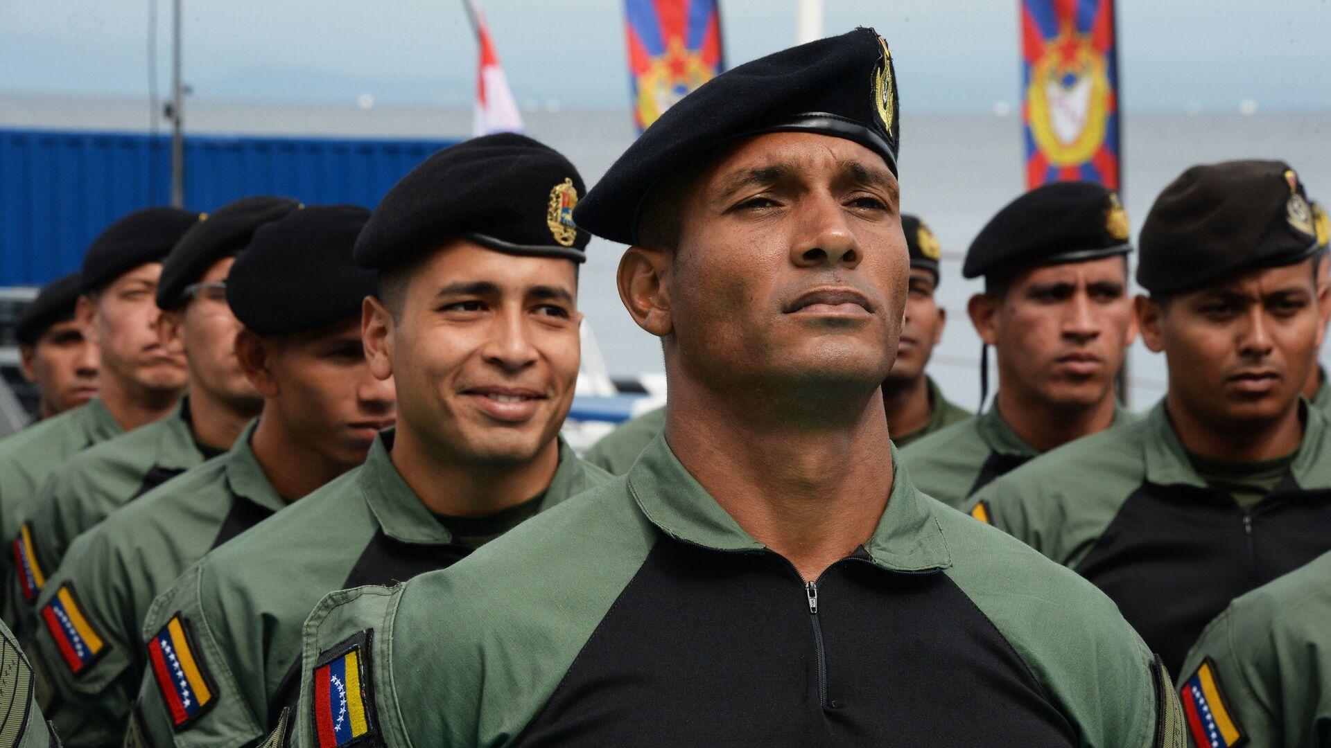 Militares venezolanos - Sputnik Mundo, 1920, 16.04.2021