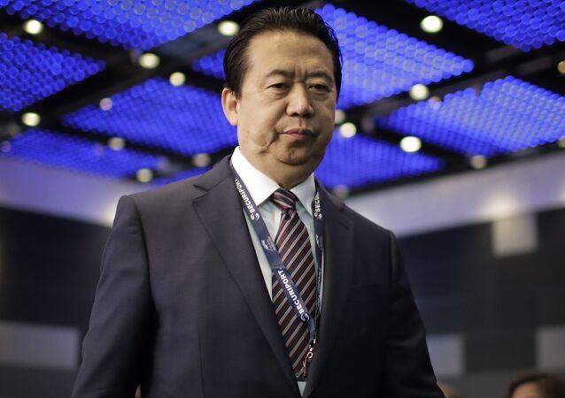 Meng Hongwei, expresidente de Interpol (archivo)