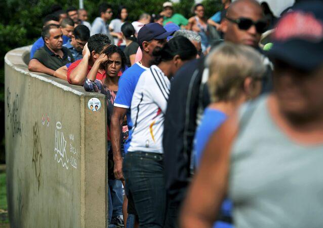 Elecciones en la favela Rocinha de Río de Janeiro