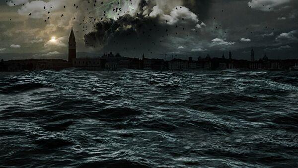 Una tormenta en el mar - Sputnik Mundo