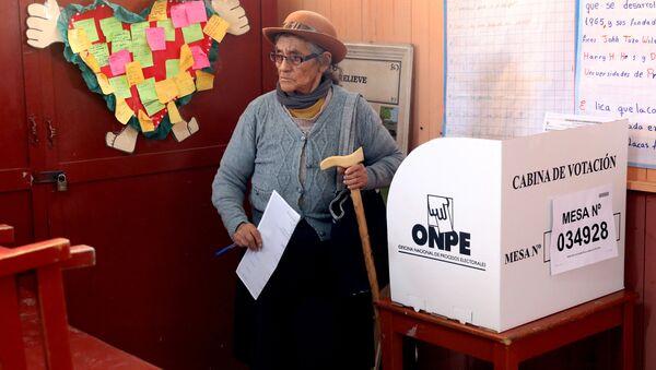 Elecciones en Lima - Sputnik Mundo
