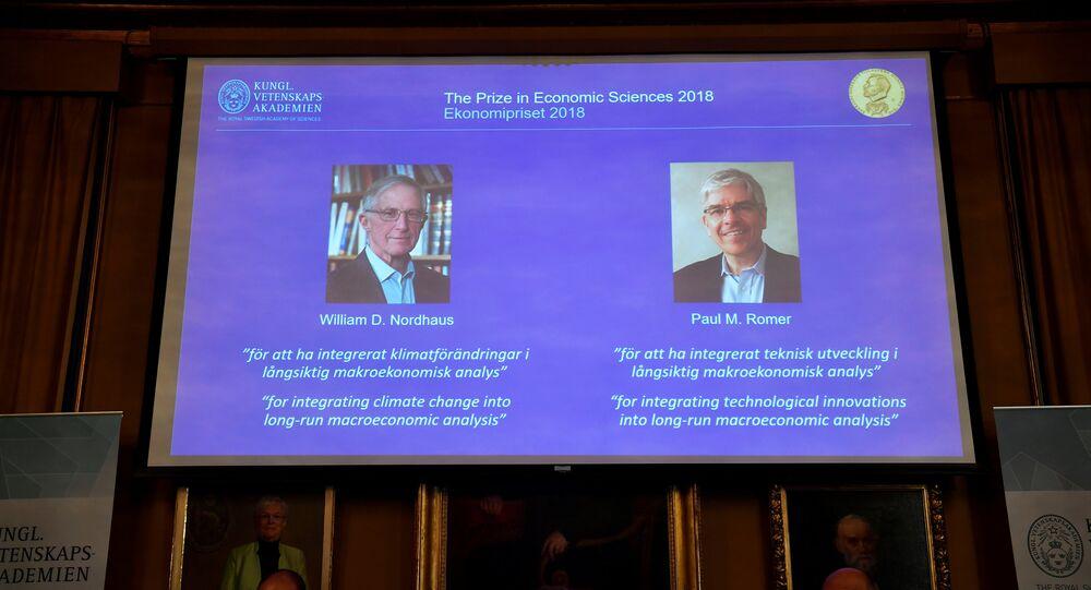 Los ganadores del Premio Nobel de Economía 2018
